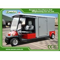 Wholesale 2 Seater 48v Electric Ambulance Golf Cart With Rain Cover Waterproof from china suppliers