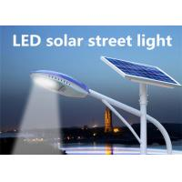 Wholesale Solar Powered Street Lamp High Pressure Die - Casting Aluminum , Commercial Solar Street Lights 3000 - 6500K from china suppliers