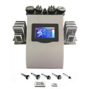 Wholesale Portable 6 In 1 Cavi - lipo Ultrasound Cavitation Machine 40K Cavitation RF Multipolar Tripolar Vacuum Laser from china suppliers