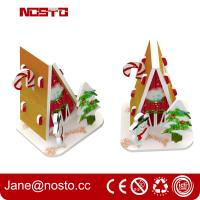 Wholesale Merry christmas 3d puzzle for Christmas hanging as miniature puzzle from china suppliers