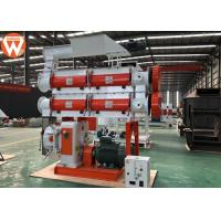 China Chicken Bird Pellet Production Plant With Double Shaft Paddle Mixer Stable on sale