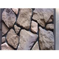 Scattered Artificial Rock Siding For Villas / Railway Station Steam - Cured
