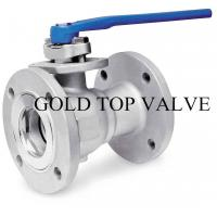 Wholesale JIS 10k Flange 2PC Stainless Steel Floating Ball Valve from china suppliers
