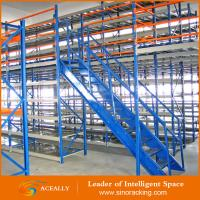 Buy cheap Factory Price Nanjing Mezzanine floor racking system from wholesalers