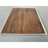 Wholesale 10 Inch PVC Plastic Laminate Panels 2.6kg Per Sqm With Wooden Film For Ceiling from china suppliers
