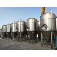 Wholesale Vertical Jacketed Fermentation Tank Bright Beer Conical Beer Fermenter 3000L from china suppliers