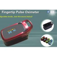 Quality finger pulse oximeter,color screen,pocket style,algorithm Inside ,anti movement for sale