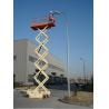 Buy cheap Mobile hydraulic scissor equipment maintenance lifting platform from wholesalers