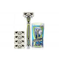 Buy cheap Stylized Rubber Grip 6 Blades men ' s razors SXA5000 with Sculpting Trimmer product