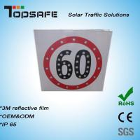 Wholesale Aluminum Flashing Solar LED Traffic Speed-Limited Sign (TPS-S4) from china suppliers