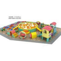 China Non Toxic Material Indoor Soft Playground Parent - Child Kindergarten Tunnel Combination on sale