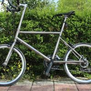 Wholesale Ti BMX Titanium Road Bike Frame Titanium Racing Mini Velo Bike Frame from china suppliers