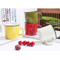 Wholesale 12oz Blank Ceramic Coffee Mugs from china suppliers