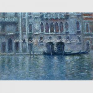 China Canvas Claude Monet Oil Paintings Reproduction Palazzo Da Mula At Venice Wall Decor on sale