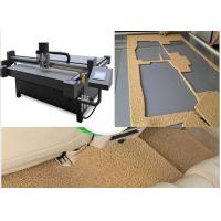 China PVC Coil Vinyl Loop Mat Cutting Machine Cut To Small Pieces Make Auto Floor Mat on sale