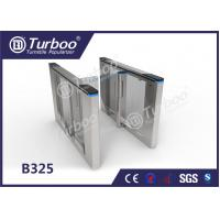 Wholesale Office Security Entrance Swing Turnstile Barrier Gate RFID Card Reader from china suppliers