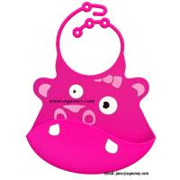 Wholesale Adjustable neck Silicone Baby Bib, Custom Silicone Baby Bib from china suppliers