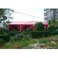 Wholesale 12M Red Fabric Cover Wedding Tent Decoration , Wedding Canopy Tent Aluminum Alloy Frame from china suppliers