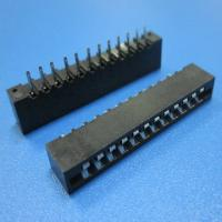 Wholesale fpc connectors 2.54mm pitch  NO-ZIF 180 degree from china suppliers