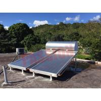 China Simple Solar Hot Water Heater System Thermosyphon Blue Titanium Solar Collector on sale