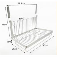 Wholesale Kitchen Wall Mounted Kitchen Organizer Rack Dish Drying With Drilling from china suppliers