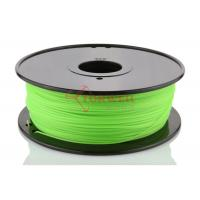 Wholesale Fluorescent Green 3D Printer ABS Filament Spool , Cubify Makerbot Filament from china suppliers