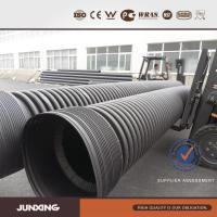 Large diameter hdpe twin wall corrugated culvert pipe of