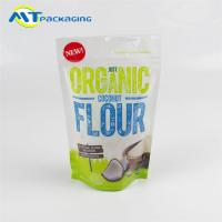 Wholesale Coconut Flour Stand Up Gusseted Pouch SGS Certification Easy To Display from china suppliers