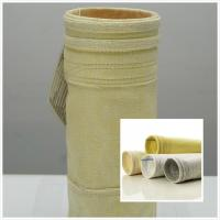Wholesale 800GSM High Temperature Filter Bags / Pocket  FMS Fibreglass Filter Bag from china suppliers