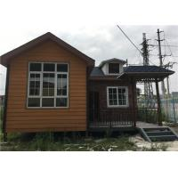 Wholesale 56㎡ Lightweight Cement Board Wall Prefab Steel House With Asphalt Shingle from china suppliers