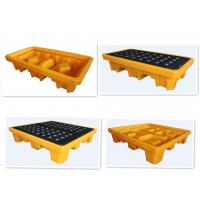 Wholesale Oil Spill Containment Platform 1 Drum 2 Drum 4 Drum LLDPE Safety Products from china suppliers