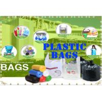 Wholesale Plastic bag T-shirt Bag Vest Bag Flat Bag Garbage Bags Bag On Roll  for Shopping from china suppliers