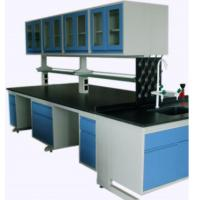 Wholesale Full Steel Laboratory Benches And Cabinets , Lab Desk Furniture With Adjustable Shelf from china suppliers