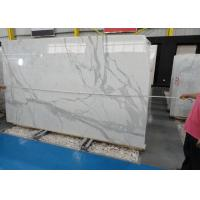 Morden Design Italy Calacatta Marble Slab , Marble Wall Slab 20mm Thickness