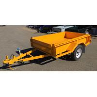 China Painted 750KG Tandem Box Trailer , Heavy Duty  7 X 5 Box Trailer on sale