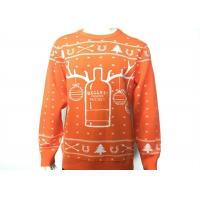 Wholesale Customized Ugly Holiday Sweaters Christmas Sweater Jumper Knitting Patterns from china suppliers