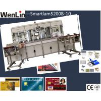 Wholesale plastic PVC clear transparent business name card  plastic Card Laminating Machine labor saving from china suppliers