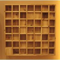 Wholesale Square / Cubic Pattern Ceiling Acoustic Diffuser / Wood Diffuser Panel from china suppliers