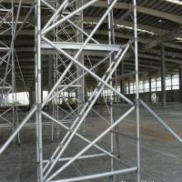 Ladder Scaffold System : Hot dip galvanized frame scaffolding system strong