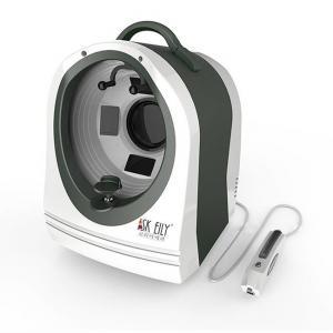 Wholesale Hyperpigmentation Dermatoscope  Facial Skin Analyzer Machine 7200K from china suppliers