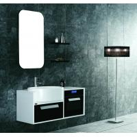 Wholesale small size PVC/MDF hanging/floating/wall-mounted bathroom vanity/bathroom cabinet from china suppliers