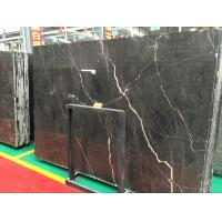 China Floor / Wall Saint Laurent Marble Tile Honed / Antique Surface Machining on sale
