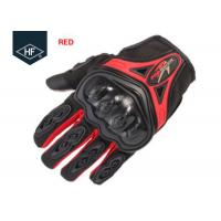 Wholesale Riding Aftermarket Motorcycle Accessories Red Blue Touch Finger Full Finger Motorcycle Gloves from china suppliers