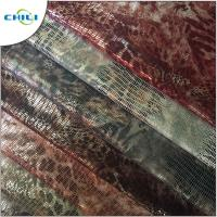 Wholesale Embossed Soft Leather Material , Pvc Leatherette Fabric Eco Friendly Easy Cleaning from china suppliers