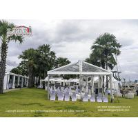 UV Resistance Luxury Big Marquee Tent For Wedding / Exhibition for sale