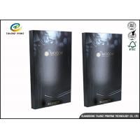 Wholesale Black Foldable Paper Electronic Product Packaging Boxes Customized from china suppliers