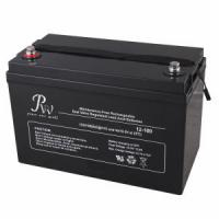 Wholesale Solar VRLA AGM Battery Sealed Lead Acid Battery 12v 100ah For General Purpose from china suppliers