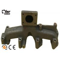 Wholesale OEM Excavator Engine Parts 4BD1 Engine Exhaust Manifold 6 Months Warranty from china suppliers