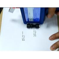 Wholesale Industrial Glass Expiry Date Bottle Coding Machine , Automatic Ink Marking Machine from china suppliers