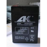 China FM Small-sized Sealed Lead Acid Rechargeable Battery 6V-4AH on sale